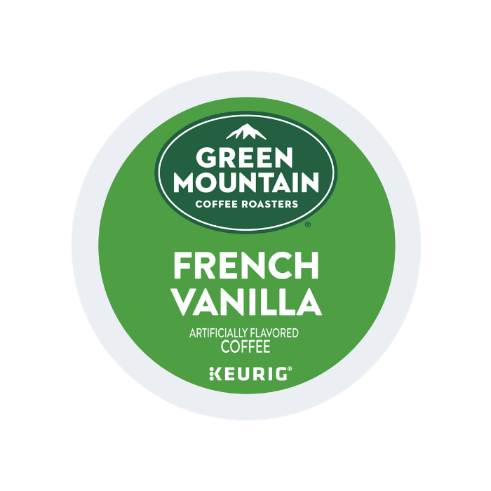 green mountain french vanilla k cups lid