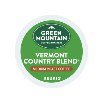 green mountain vermont country blend k cups lid